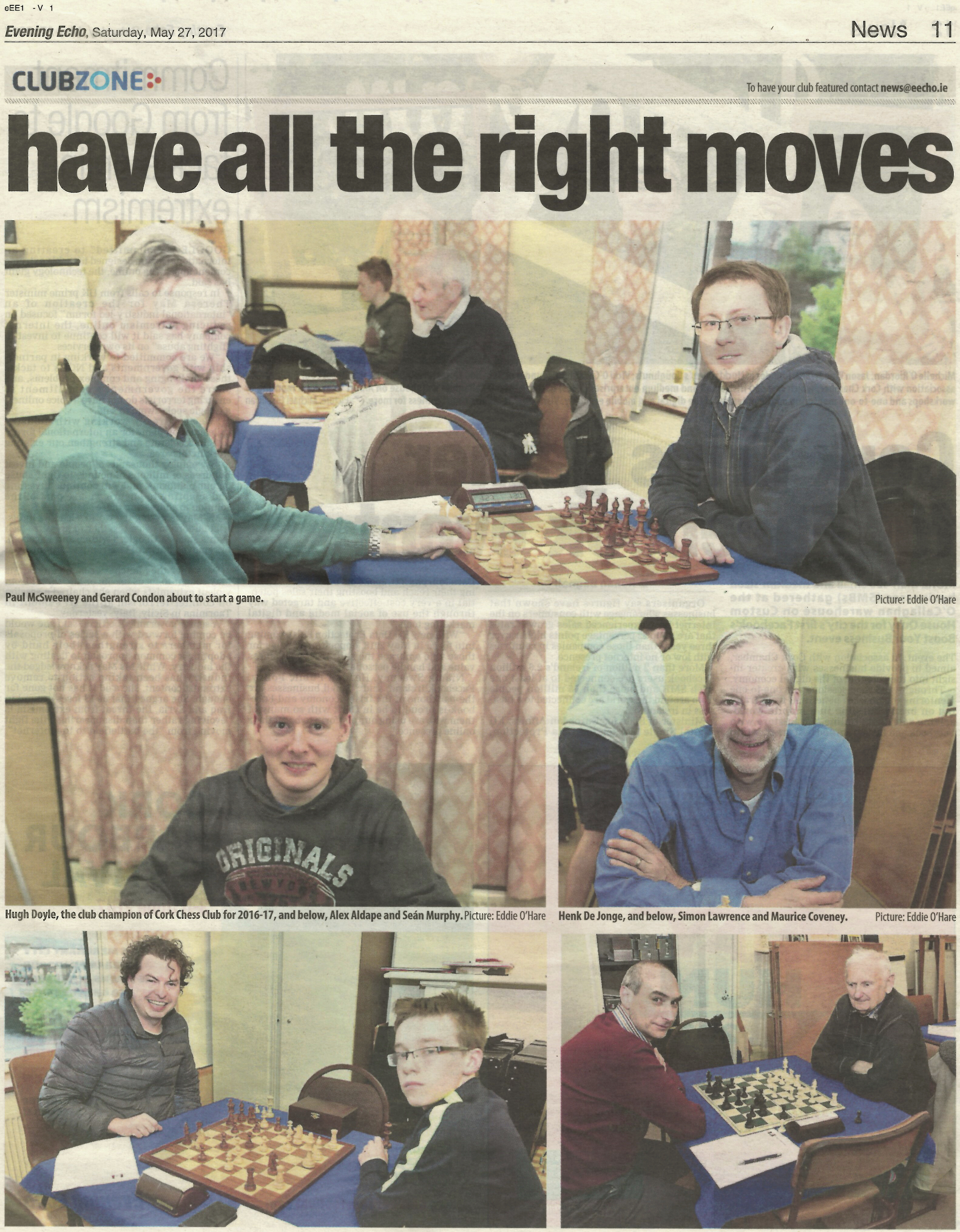 Evening Echo clubzone Feature